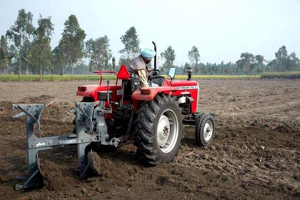 agricultural debt waiver tractor loan recovery may also be affected
