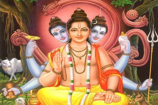 lord dattatreya created 24 gurus