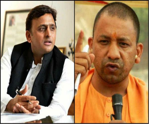 yogi sarkar proves failure to handle law and order akhilesh