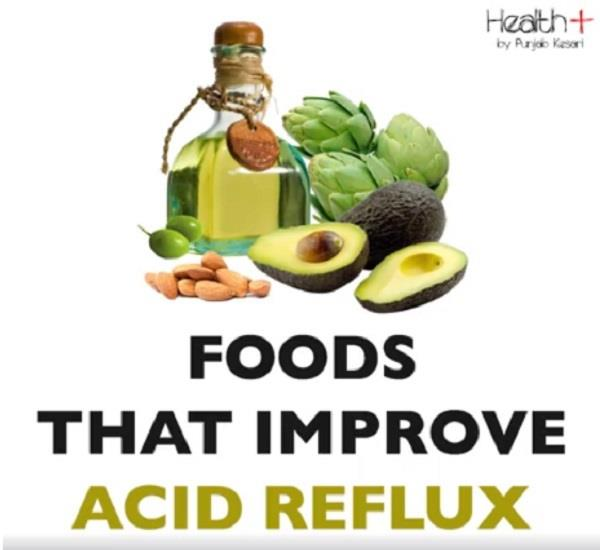 foods that improve acid reflux