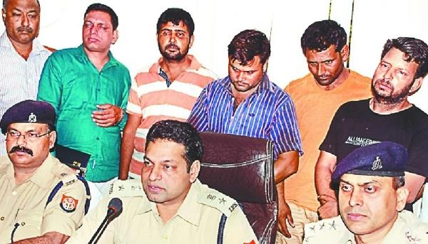 meerut police have looted millions of crores of rupees for the last few days