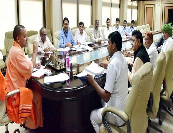 yogi cabinet approves the anti geo mafia task force