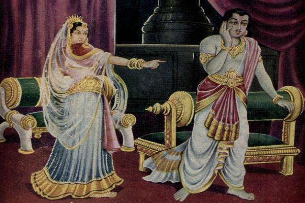 when arjuna became impotent