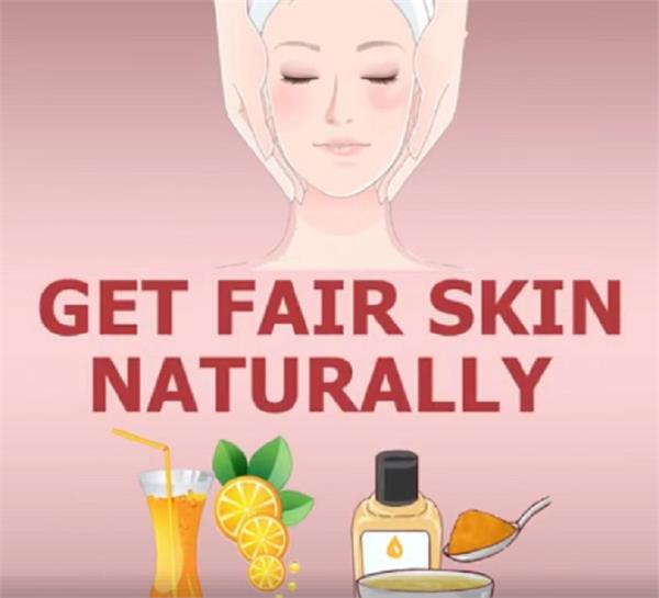 get fair skin naturally