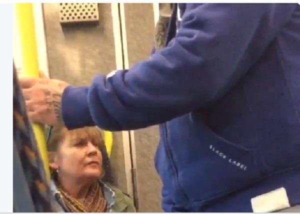 woman screams at asians on irish train go back to india