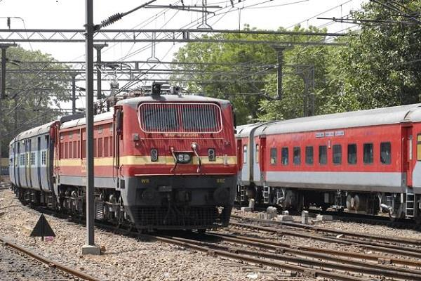 preparation of ac 3 coach by removing ac 2 trains