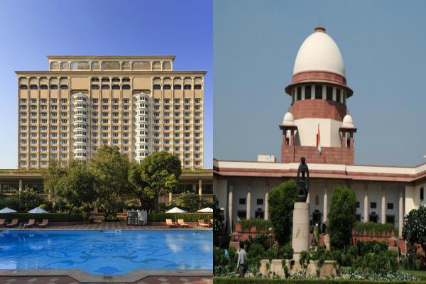 sc orders ec e auction of taj mansingh hotel