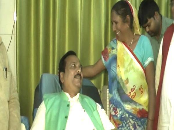 bjp legislator exemplified situation saved his life by giving blood