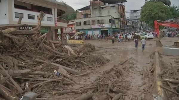 272 people died in columbia due to landslide