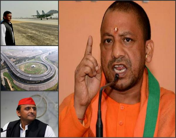 akhilesh dream project under the purview of agra lucknow expressway