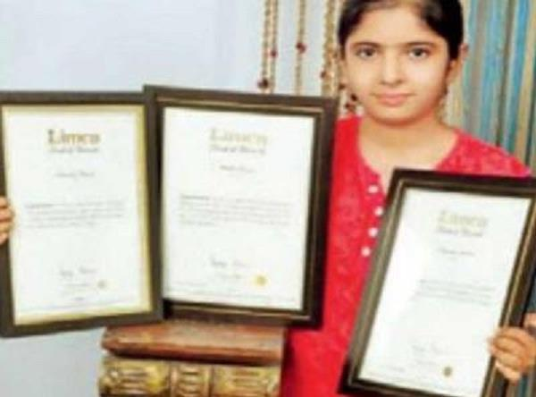 kanpur 10th student has 13 limca book records made in 1 year people