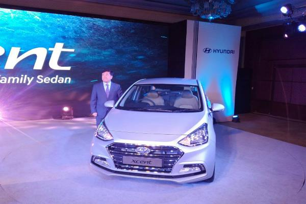 hyundai launches new xcent