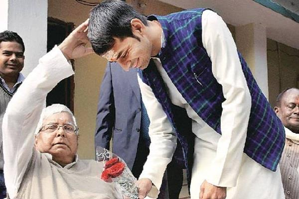 lalu says my son is innocent