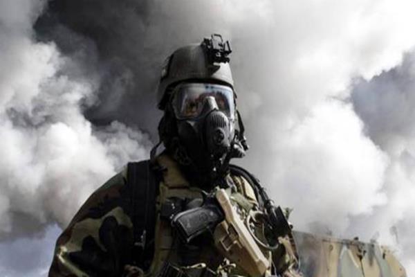 isis terrorist gas attack on iraqi army mosul