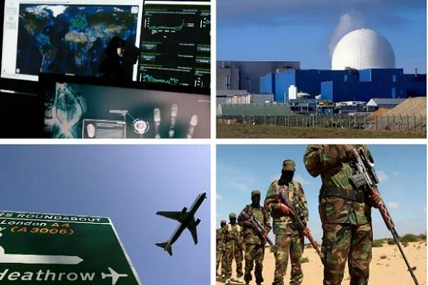 uk nuclear stations and airports alerted about possible terrorist attacks