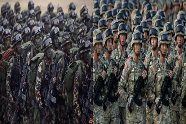 nepal china hold first ever military exercise