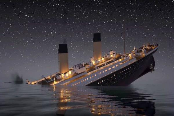 titanic was sunked on today more than 1500 people were killed