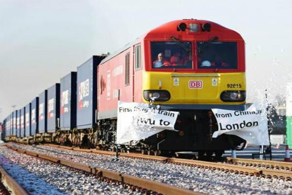 first direct london china freight train reaches