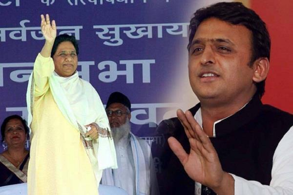 mayawati and akhilesh came together for the third time