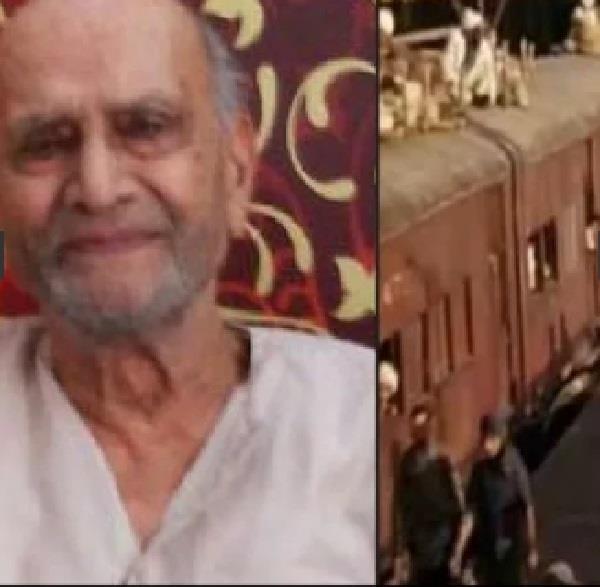 the man run train full of dead bodies from pakistan
