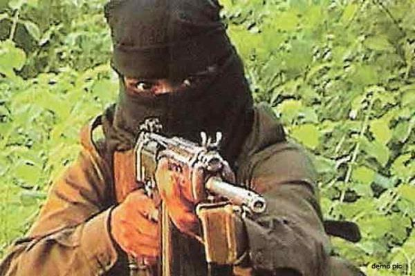 naxalites killed one person  eight vehicles handed over to fire