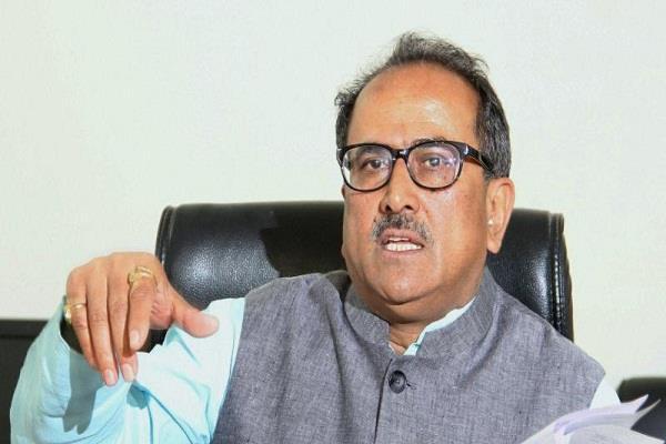 nirmal singh asks to postpone anantnag elections