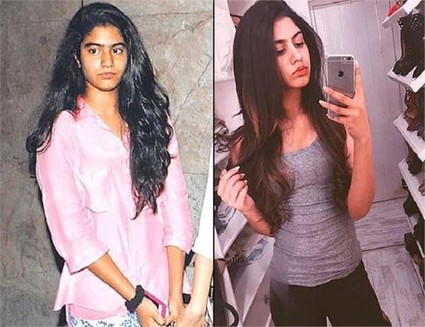 श्रीदेवी की छोटी बेटी नहीं थी इतनी सुंदर तो कैसे आया इतना बदलाव!