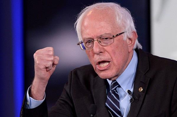 bernie sanders announced america  s most popular politician