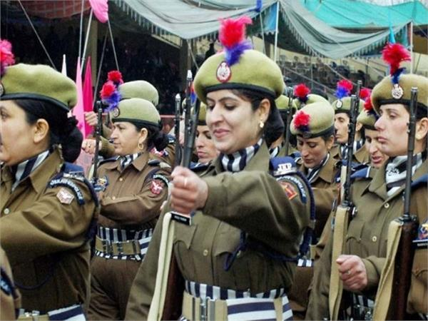 women police bttallion to deal with stone peltters in kashmir