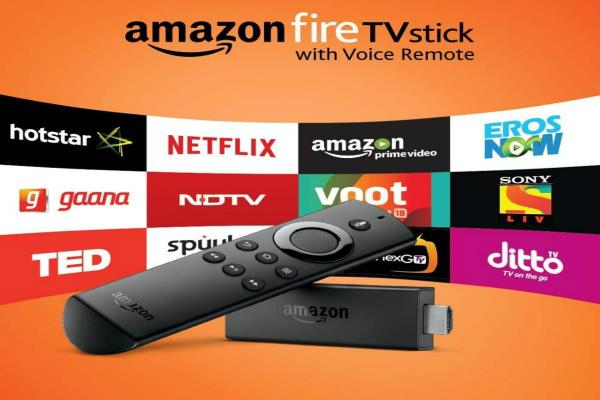 amazon launches firetv stick with voice remote