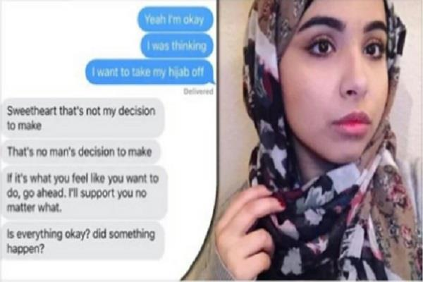 muslim girl asked to remove hijab father gave a answer