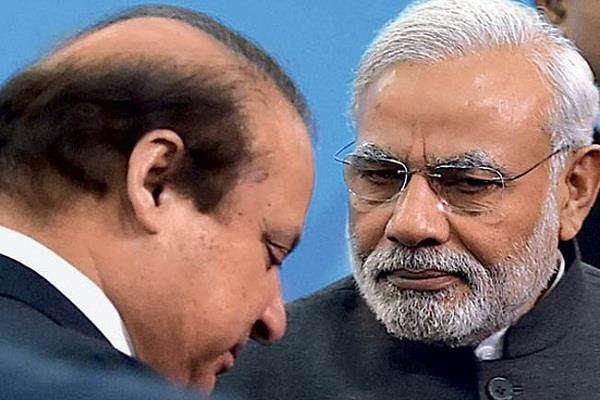 modi and sharif meet in astana  pak media