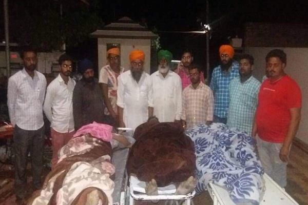 3 youths killed 2 critically injured due to sky fall