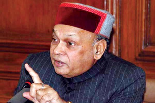 dhumal said chief minister virbhadra singh  s comments result of frustration
