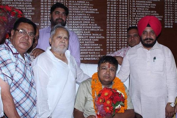 rajneesh mittal shanti 21st new head of nabha nagar council took over