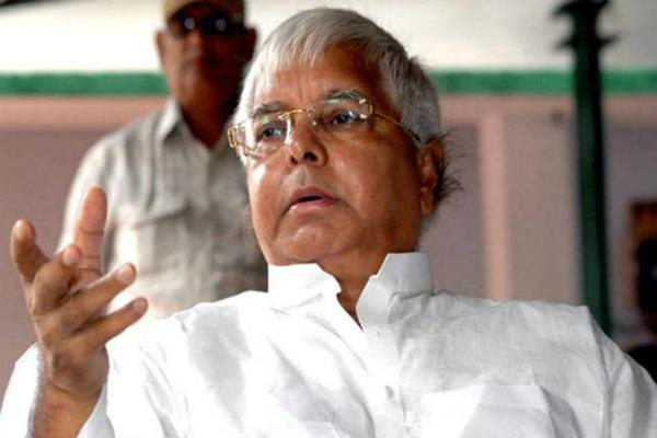 bjp will run to know the truth if elections are held lalu