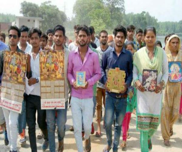180 dalit families adopted buddhist religion in saharanpur read whole case