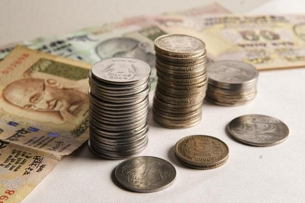 rupee fall  open at 64 34