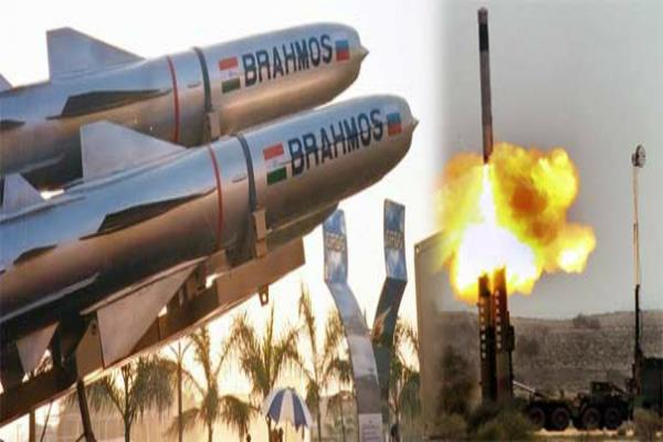 successful test of   brahmos   cruise missile on second day
