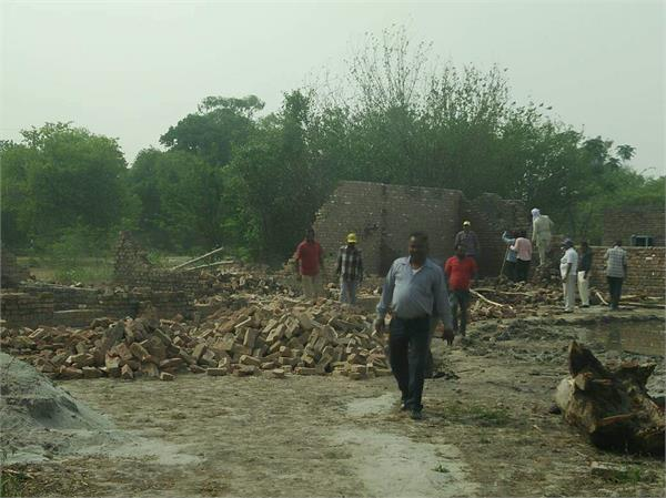 cantonment board builds illegal destruction