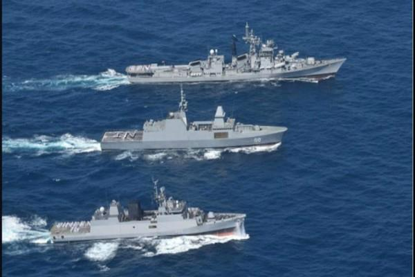india singapore naval drill shouldnt hurt others china