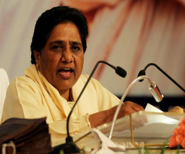 mayawati on path of country from policies of bjp and modi