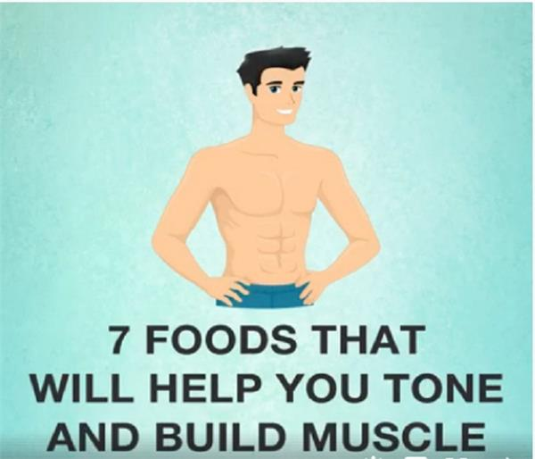 7 foods for strong muscles and fit body in diet