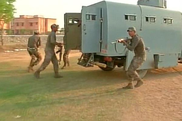 special training for crpf to tackle stone pelting and unlawful gathering