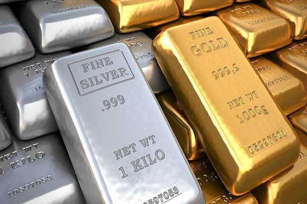 so much change in gold and silver prices in 3 weeks