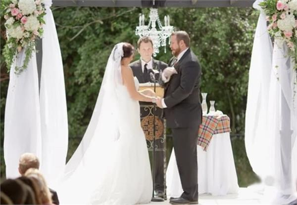groom slaps bee out of bride face