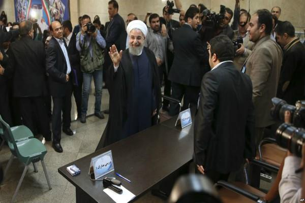 iran presidential election huge rise to rohani