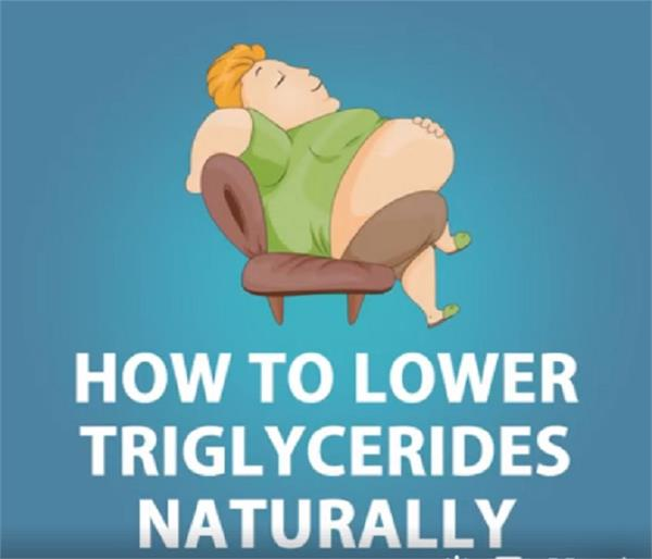 methods to reduce levels of triglycerides in the body