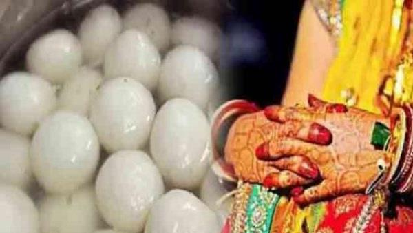 rasgulla got heavier on marriage without brides returning to bride