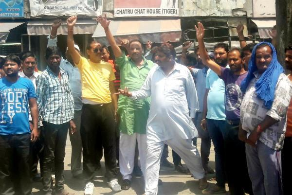 temporary cleaning workers did not get salary from 4 months